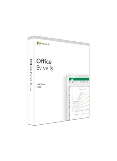 Microsoft Microsoft Office 2019 T5D-03258 Türkçe Kutu Lisans Renkli